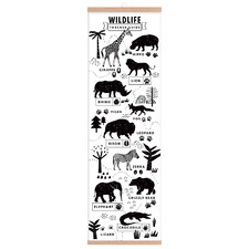 Animal Tracks Wall Accents (Set of 2)