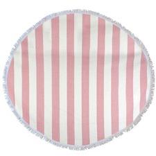 Round Bold Stripe Turkish Style Towel