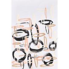 Directional Circles Canvas
