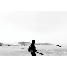 Desert Guitar Canvas