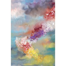 Rainbow Clouds Canvas