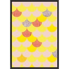 Yellow Scales Print