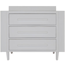 Maxwell New Zealand Pine Wood Chest of Drawers & Change Table