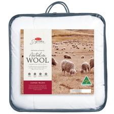 Signature Super Warm Australian Wool Quilt