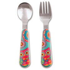 Owl Silverware Set