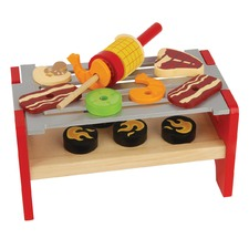Wooden Grill Toy Set