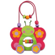 Butterfly Rolling Wire & Bead Toy