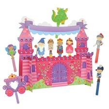 Princess Puppet Craft & Play Set