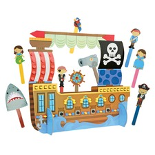 Pirate Puppet Craft & Play Set