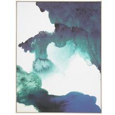 Smokey Natural Framed Canvas Wall Art