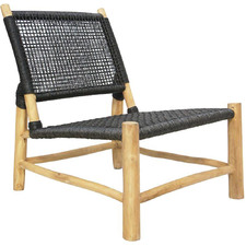 Natural Jaxson PE Rattan Accent Chair