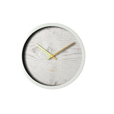30cm White Wash Surface Clock