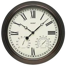 38cm Copper Alfresco Air Wall Clock