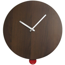 40cm Grain & Pendulum Frameless Wall Clock