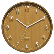 40cm Bentwood Silhouette Wall Clock