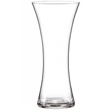 FYT 30cm Glass Waisted Vase