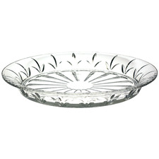 40cm Macquarie Crystal Serving Plate