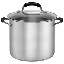Stanley Rogers Pro-Form 24cm Stainless Steel Stock Pot