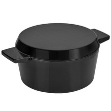 Stanley Rogers Onyx 24cm Cast Iron French Oven