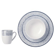 16 Piece Dinner Set Marina Navy