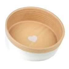Heart Ceramic Dog Bowl