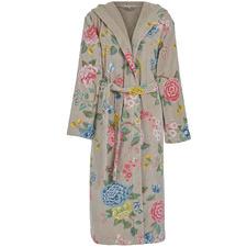 Khaki Pip Studio Good Evening Cotton Bath Robe
