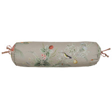 Floris Cotton Neck Roll Cushion