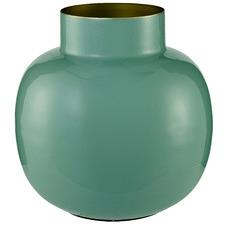 Wide Ishvi Metal Vase