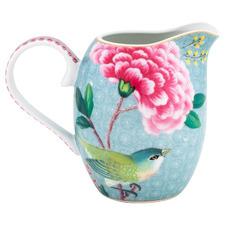 Blue Blushing Birds 250ml Porcelain Milk Jug