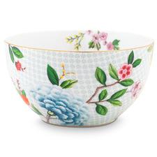 White Blushing Birds 15cm Porcelain Bowl