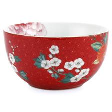 Red Blushing Birds 12cm Porcelain Bowl