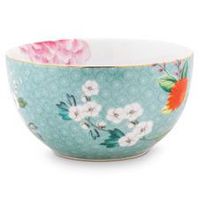 Blue Blushing Birds 12cm Porcelain Bowl