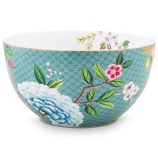 Blue Blushing Birds 15cm Porcelain Bowl