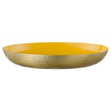 40cm Light Yellow Seraiah Aluminium Serving Tray