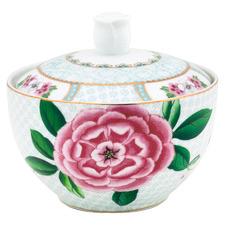 White Blushing Birds 300ml Porcelain Sugar Bowl