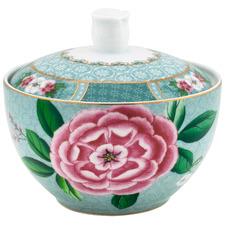 Blue Blushing Birds 300ml Porcelain Sugar Bowl