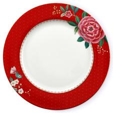 Red Blushing Birds 26.5cm Porcelain Dinner Plate