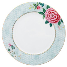 White Blushing Birds 26.5cm Porcelain Dinner Plate