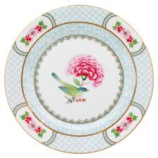 White Blushing Birds 17cm Porcelain Dessert Plate