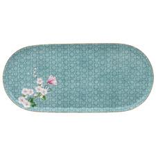 Blue Kamini 25cm Oval Porcelain Platter