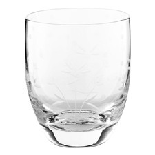 Etching 280ml Water Glass