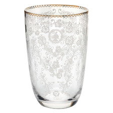 Floral 400ml Long Drink Glass