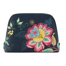 Large Jambo Flower Triangle Beauty Bag