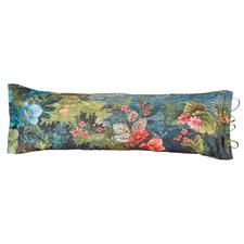 Winter Blooms Rectangular Cotton Reversible Cushion
