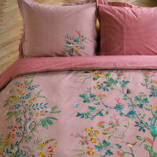 Pink Wild & Tree Cotton Quilt Cover Set