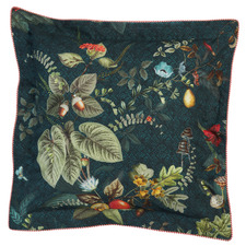 Fall In Leaf Cotton Cushion