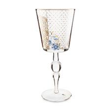 360ml Royal Golden Flower Wine Glass