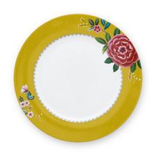 26.5cm Yellow Blushing Birds Dinner Plate