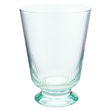 Blue Twisted 360ml Water Glass