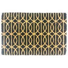Geometric Looping Coir Doormat
